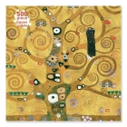 Adult Jigsaw Puzzle Gustav Klimt: The Tree of Life (500 pieces): 500-piece Jigsaw Puzzles Cover Image