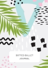 Tropical Design with Bottom Callout - Dotted Bullet Journal: Medium A5 - 5.83X8.27 Cover Image