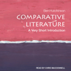 Comparative Literature: A Very Short Introduction Cover Image
