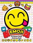 Emoji Coloring Book: Fun Emoji and Animal Designs, Collages and Funny Cover Image