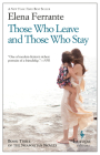 Those Who Leave and Those Who Stay: Neapolitan Novels, Book Three Cover Image