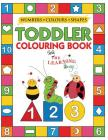 My Numbers, Colours and Shapes Toddler Colouring Book with The Learning Bugs: Fun Children's Activity Colouring Books for Toddlers and Kids Ages 2, 3, Cover Image