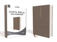 Nbla Santa Biblia, Letra Supergigante, Tapa Dura/Tela, Gris, Edición Letra Roja Cover Image
