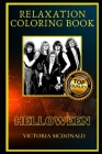 Helloween Relaxation Coloring Book: A Great Humorous and Therapeutic 2020 Coloring Book for Adults Cover Image
