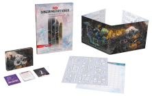D&D Dungeon Masters Screen: Dungeon Kit (Dungeons & Dragons DM Accessories) Cover Image