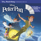Peter Pan Read-Along Storybook and CD Cover Image