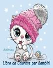 Animali Libro da Colorare per Bambini: Un libro di attività divertente per bambini e bambine in età prescolare e scolare: Simpatico Tartaruga, Anatra, Cover Image