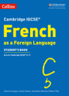 Cambridge IGCSE® French as a Foreign Language Student's Book (Cambridge Assessment International Educa) Cover Image