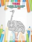 Malbücher für Erwachsene - Stressabbauende Tiermotive - Tiere Cover Image