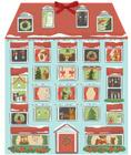 Forest Friends Christmas House Advent Calendar Cover Image