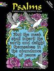 Psalms Stained Glass Coloring Book (Dover Stained Glass Coloring Book) Cover Image