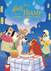 Disney Lady and the Tramp: The Story of the Movie in Comics Cover Image