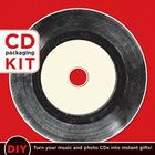 CD Packaging Kit - Vintage Vinyl: DIY: Turn Your Music and Photo CDs Into Instant Gifts Cover Image