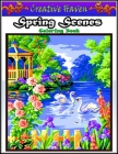 Creative Haven Spring Scenes Coloring Book: Premium Creative Haven Spring Scenes Coloring Book for Those Who Love Creative Haven, spring Scenes, Celeb Cover Image