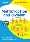 Collins Easy Learning Age 5-7 — Multiplication and Division Ages 5-7: New Edition Cover Image