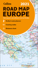 2021 Collins Road Map Europe Cover Image