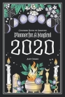 Coloring Book of Shadows: Planner for a Magical 2020 Cover Image