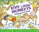 Five Little Monkeys Sitting in a Tree (A Five Little Monkeys Story) Cover Image