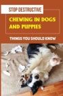 Stop Destructive Chewing In Dogs And Puppies: Things You Should Know: How To Prevent You Dogs From Destructive Chewing Cover Image