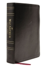 Nasb, MacArthur Study Bible, 2nd Edition, Leathersoft, Black, Thumb Indexed, Comfort Print: Unleashing God's Truth One Verse at a Time Cover Image