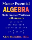 Master Essential Algebra Skills Practice Workbook with Answers: Improve Your Math Fluency Cover Image