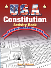 U.S.A. Constitution Activity Book (Dover Children's Activity Books) Cover Image