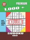 1,000 + Premium sudoku killer 9x9: Logic puzzles medium levels Cover Image