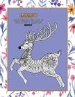 Livres à colorier pour adultes pour stylos et marqueurs - Mandala - Animaux Cover Image