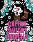 Swear Word Coloring Book For Adults: Cheeky Sweary Animals: 44 Designs Large 8.5