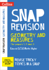 Collins Snap Revision – Geometry and Measures (for papers 1, 2 and 3): Edexcel GCSE Maths Higher Cover Image