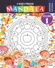 I miei primi mandala - Volume 1 - Edizione notturna: Libro da colorare di mandala per bambini e principianti - Edizione notturna Cover Image