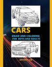 Cars: Coloring Book for Boys and Adults Cover Image