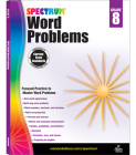 Spectrum Word Problems, Grade 8 Cover Image
