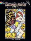 Butterfly Fairies Stained Glass Coloring Book (Dover Stained Glass Coloring Book) Cover Image