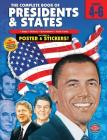 The Complete Book of Presidents & States, Grades 4-6 [With Sticker(s) and Poster] Cover Image