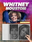 Whitney Houston Dots Lines Spirals Coloring Book: New Kind Of Stress Relief Coloring Book For Kids And Adults Cover Image