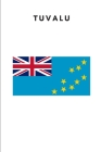 Tuvalu: Country Flag A5 Notebook to write in with 120 pages Cover Image