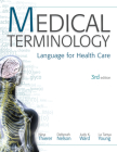 MP Medical Terminology: Language for Health Care W/Student CD-ROMs and Audio CDs Cover Image