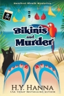 Bikinis and Murder (Large Print): Barefoot Sleuth Mysteries - Book 4 Cover Image