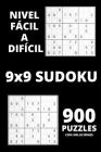 Sudoku - Nivel fácil a difícil: Sorprendentes 900 rompecabezas de Sudoku con Soluciones - Juego de Sudoku para principiantes o jugadores avanzados - L Cover Image