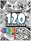 Discover +120 Characters coloring book: Amazing 120 Pages Mandala The Powerpuff Girls Coloring Book large With illustrations Great Coloring Book for B Cover Image