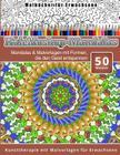 Malbucher fur Erwachsene Kaleidoskop-Mandalas Cover Image