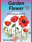 Garden Flower: Coloring Book Cover Image