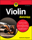 Violin for Dummies: Book + Online Video and Audio Instruction Cover Image
