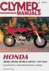 Honda XR50R, CRF50F, XR70R and CRF70F, 2000-2016 Clymer Repair Manual (Clymer Powersport) Cover Image