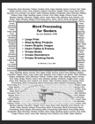 Word Processing for Seniors Cover Image