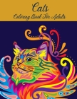 Cats Coloring Book for Adults Cover Image