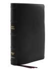 Kjv, Thinline Bible, Giant Print, Premier Goatskin Leather, Black, Premier Collection, Comfort Print: Holy Bible, King James Version Cover Image