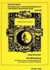 Die Minneburg. Beitraege Zu Einer Funktionsgeschichte Der Allegorie Im Spaeten Mittelalter: Mit Der Erstedition Der Prosafassung (Mikrokosmos #52) Cover Image