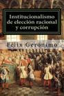 Institucionalismo de elección racional y corrupción Cover Image